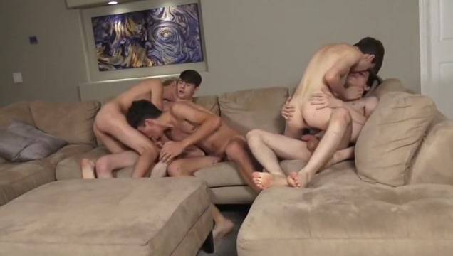 Twink quintet with big cocks have raw sex Short hairstyles 2019 for thick hair