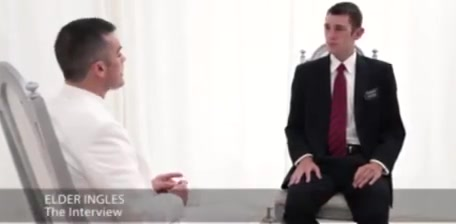 Admission interview to the mormon community Milf suction