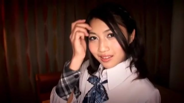 Crazy Japanese slut Leo Saionji in Hottest DP, Stockings JAV movie