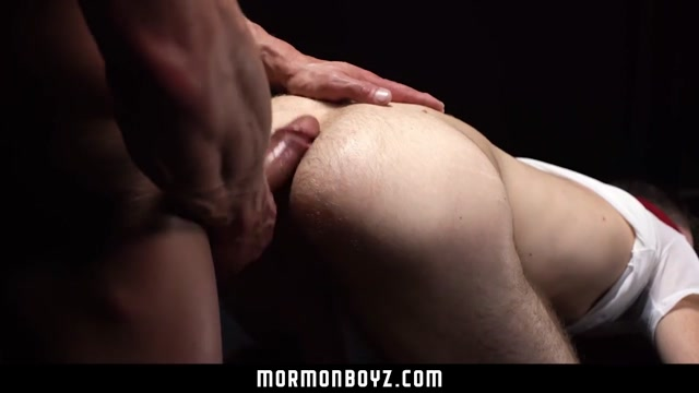 MormonBoyz - Hairy missionary guy gets barebacked by a muscle daddy Takako Kitahara Porn Video