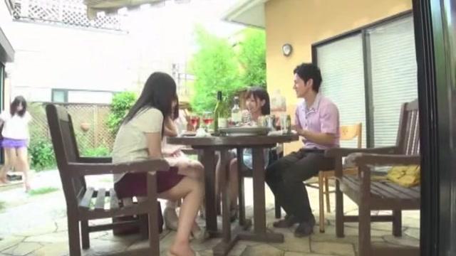 Amazing Japanese model Imai Natsumi, Airi Hayasaka, Chika Arimura in Hottest Kitchen JAV clip