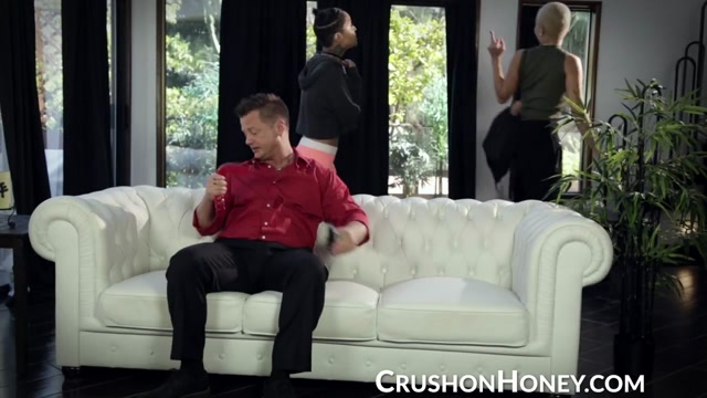 CrushGirls - Honey Gold punished by step daddy
