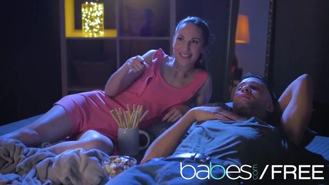 Babes - MOVIE NIGHT featuring Simony Diamond Lilu4u Kai Taylor Alexis angel shows pussy