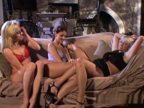 Horny pornstars Angela Stone and Naudia Nyce in crazy lesbian, brunette porn movie
