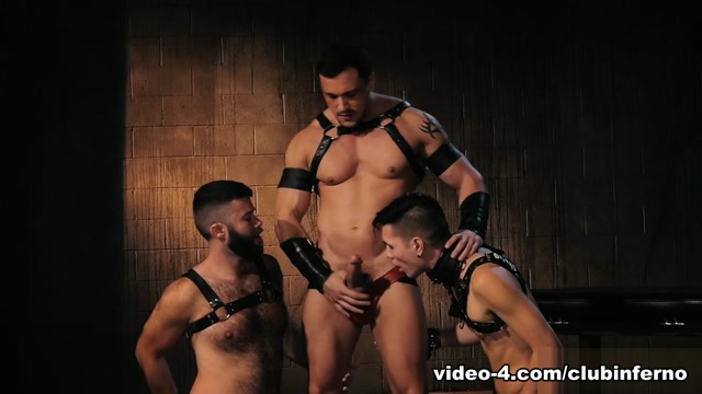 Gage Lennox & Joey D & Issac Lin in Deep Hole Dungeon - ClubInfernoDungeon photos the nun porn