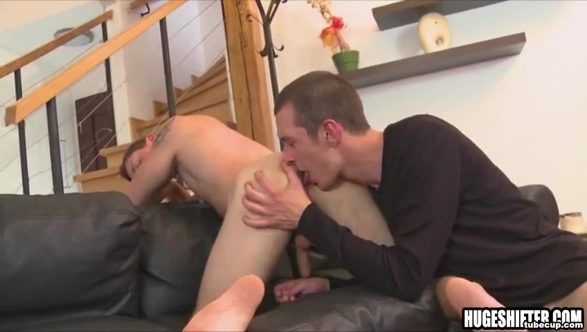 Big shaved cock sucked and fucked by skinny stud assault sex sleep video