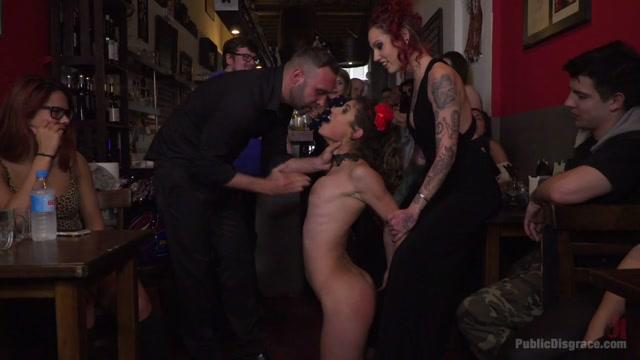 Julia Roca Sings In Pain - Part 2 - PublicDisgrace Showing biggest pussy lips