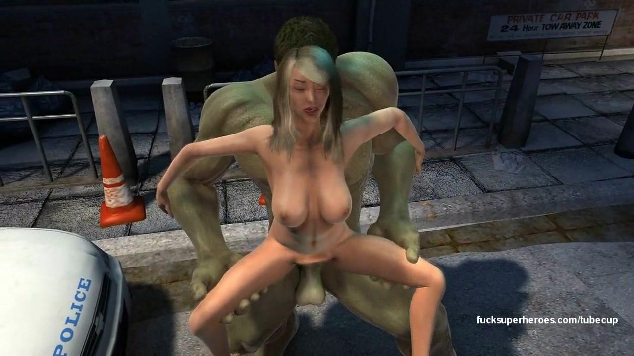 Hulk 3 People walking around naked