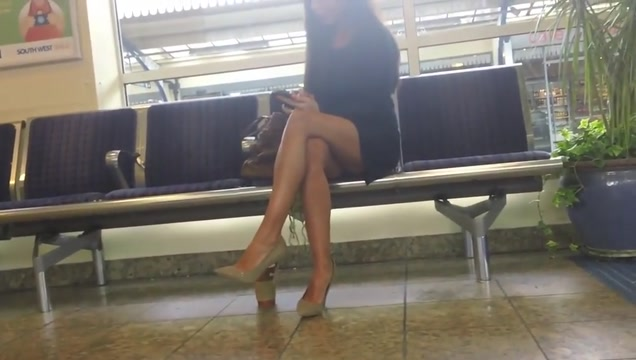 Day at the train station