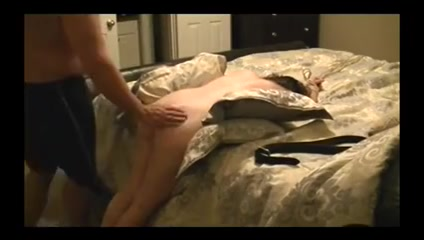 Submissive wife punished