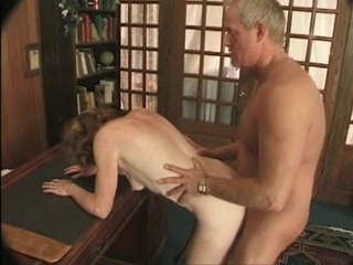 Old Granny Gets What She Is Looking For Butt cum great