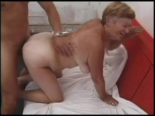 Helping Granny Nude in sex man and wome