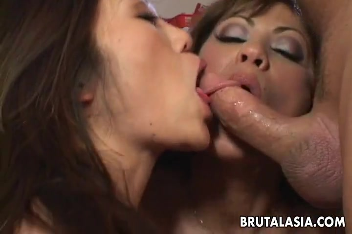 Asian slut Kaiya Lynn fucked in a kinky FFM threesome Free grandmother porn videos grandmother sex movies grandmother