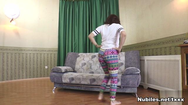 Leana in Strip Down - Nubiles Black Fat Ass Shemale