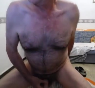 Grandpa play on webcam 1 Latina maid fuck for more cash
