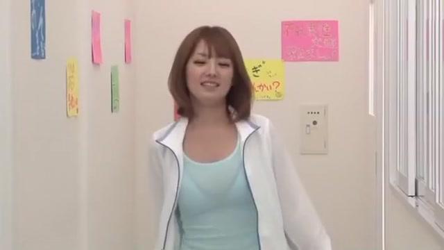 Crazy Japanese slut Tsubasa Amami in Exotic Stockings, Couple JAV movie