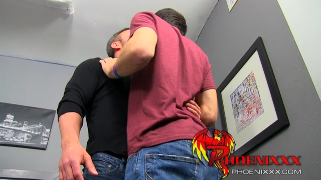 Brock gives Aidens ass a rimjob before sliding his dick in most passionate porn videos