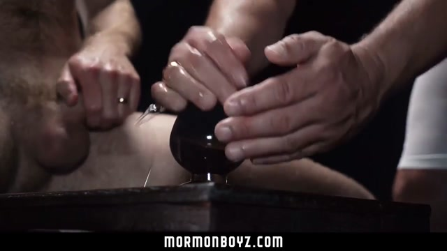 MormonBoyz - Muscle daddy priest breeds younger bishop?s hole Selena gomez naked suck