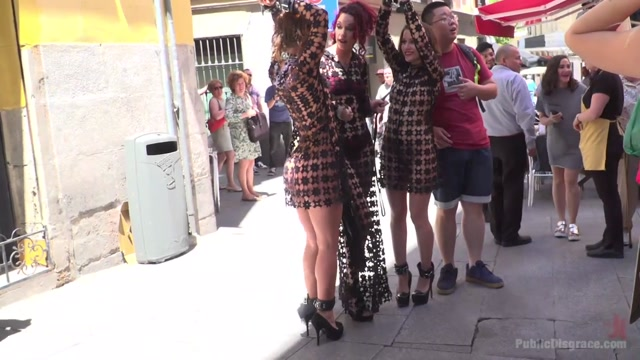 Alexa Nasha & Julia Roca - Walk Of Shame - PublicDisgrace I'm black and hookup a white guy meme standing lonely