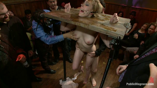 Gorgeous 20 Year Old Blonde Fucked And Degraded - PublicDisgrace naked anime girls geting bang