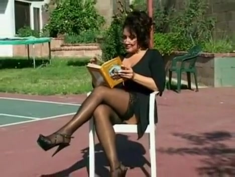 Incredible Stockings, Fetish sex scene sex on beach with milking