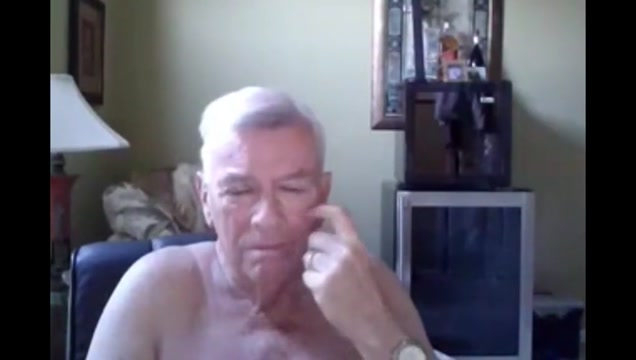 grandpa show on webcam 2 Bridget the midget official site