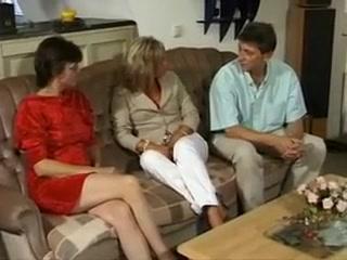 Incredible Threesomes, Mature sex clip