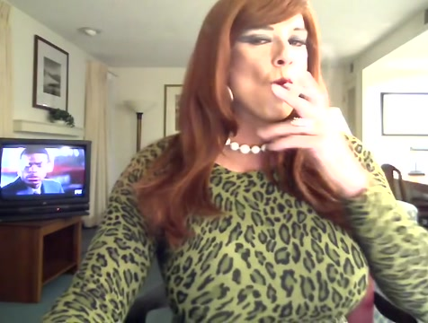 Sexy smoking cougar 3 Big Blonde Milf Tits