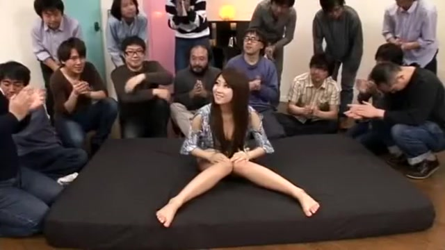 Crazy Japanese slut Hitomi Kitagawa in Hottest Group Sex JAV movie Women looking for threesome