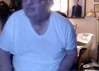 grandpa stroke on cam Wife plowed in the ass