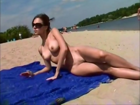 Nude beach 1 Pussy shots with toys