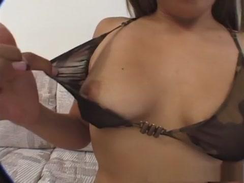 Best pornstar Sophia Castello in fabulous threesomes, brunette adult clip Wife bf fucked my ass