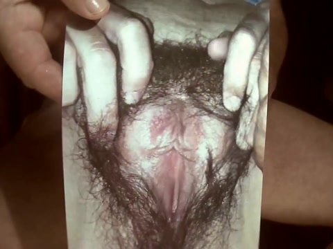 Tribute for longshawn54 - cumshot on a hairy cunt Natural tits top