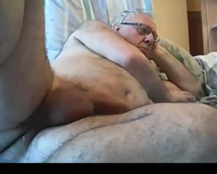 Grandpa 1 Fake tits topless