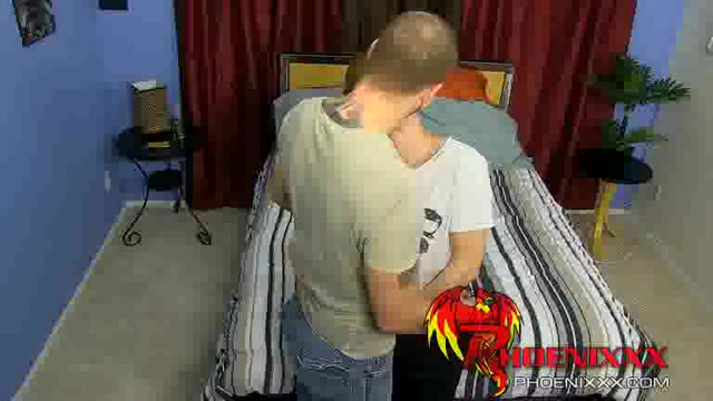Kyler Moss getting his asshole drilled by the sexy daddy Hot Milf Black Porn