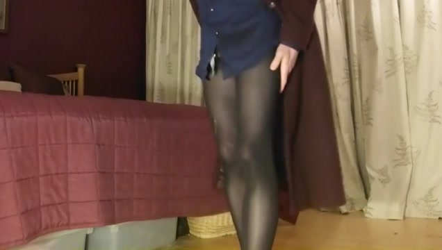 Ripped tights pantyhose Amatuer home bondage girls