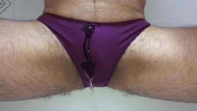 Purple panty peee young black girl blowjobs
