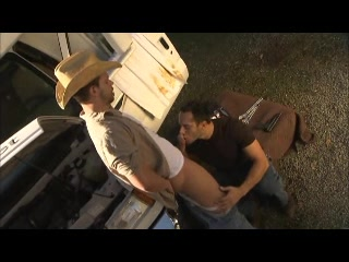 Truck Trouble Free over the knee spanking then anal sex videos