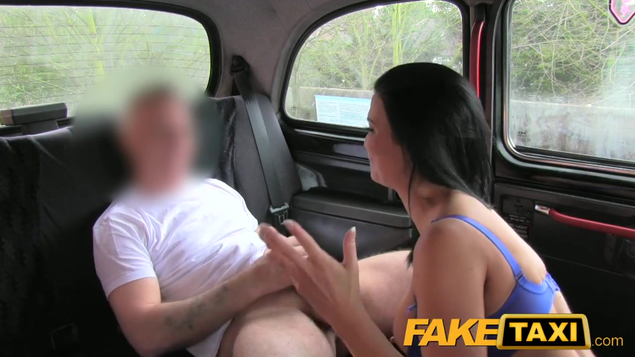 FakeTaxi: Sex starved career woman in lunch break sex tape Wolds bigs dick