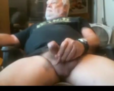 Grandpa stroke on webcam 2 I Can Not Control