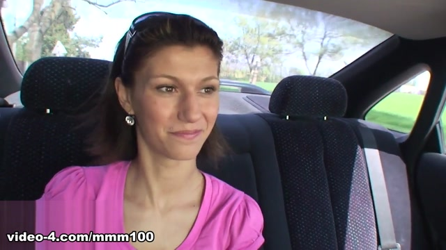 Brunette Fucked On The Roadside By 2 Mates - MMM100