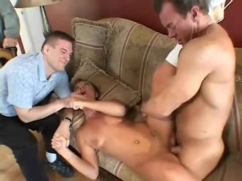 Wife fulfills her fantasy to fuck a pornstar while hubby and friend watch Hot ebony butts