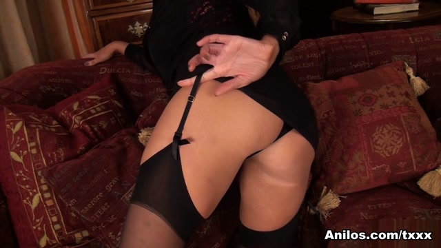 Leigh Darby in Lovely Laced Top - Anilos sexy black boy ass