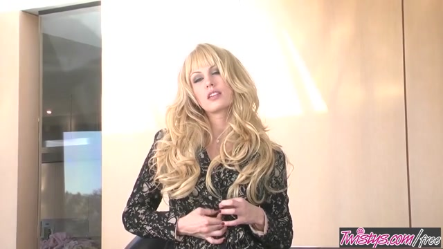 Twistys - Kiara Diane starring at Elegant Beauty Blondes in thongs pics