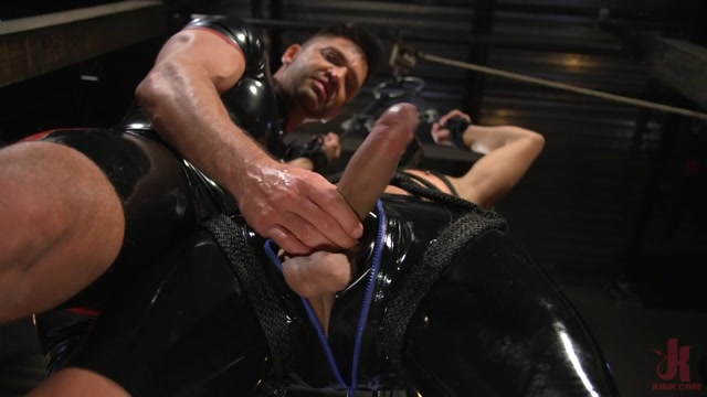 Dominic Pacifico,Matt Anthony in Matt Anthony Takes A Beating And A Fucking In Full Suspension - BoundGods Yerevan city online