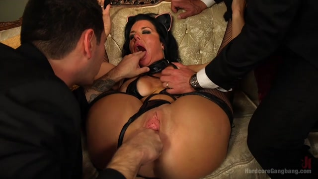 Kitten In A Cage: Veronica Avluv Fucked Wide Open - HardcoreGangbang latina threesome deepthroat interracial