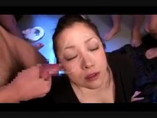 Minako Komukai - 1St BUKKAKE Woman with three tits porn