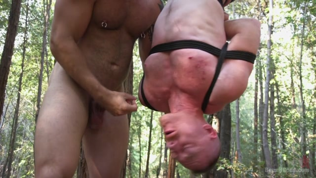 Jonah Fontana & Damien Moreau in Deep Woods Domination: Chapter 3 - BoundGods latin breeders orgy porn