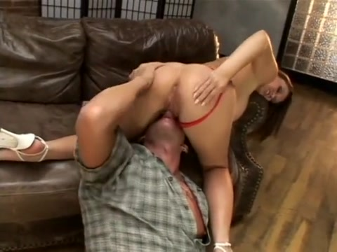 Delicious babe Sara Stone gets tits licked and hairy pussy rolled