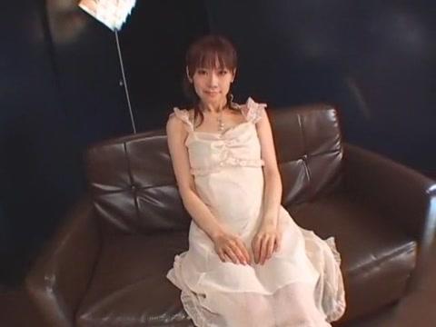 Horny Japanese chick Hiromi Matsuura in Hottest Blowjob, Swallow JAV clip